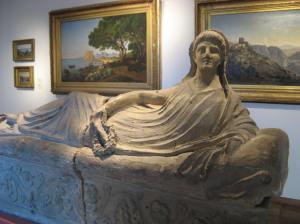 Etruscan sarcophagus 6th-century BC