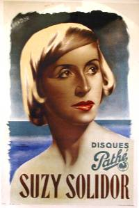 Poster for film late-1930s
