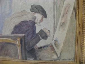 Portrait of Renoir by Albert André