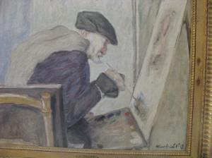 Portrait of Renoir by Albert André