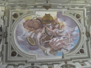 Grande Salle roof fresco