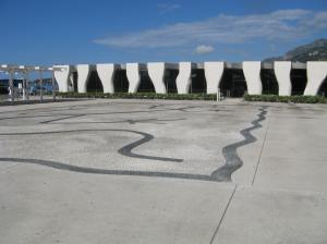 Jean Cocteau Museum, looking west