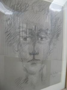 One of many self-portraits