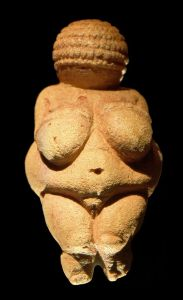 """Earth-bound goddess"", 28,000 years ago"